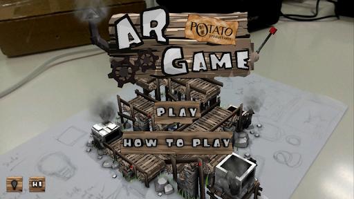 Potato Augmented Reality Game