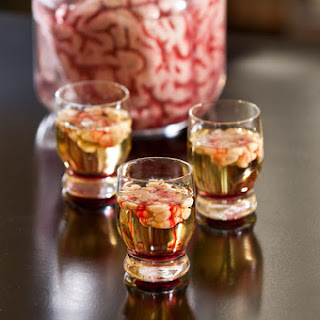 Bloody Brain Shooters- Gross Halloween Shots!