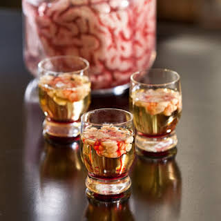 Bloody Brain Shooters- Gross Halloween Shots!.