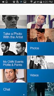 CMN Events - náhled