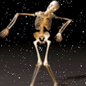 Dancing Skeleton Live Wallpape logo