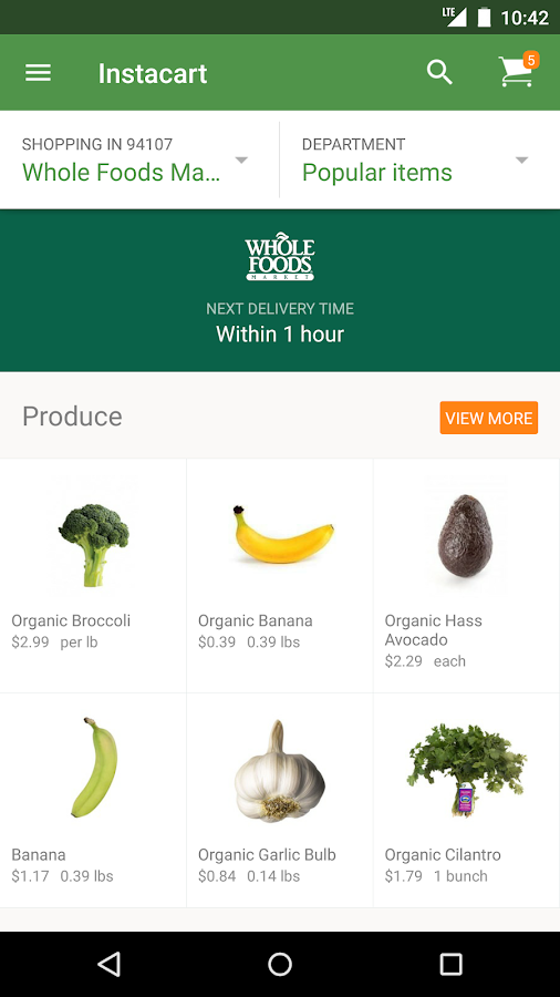Instacart: Grocery Delivery - screenshot