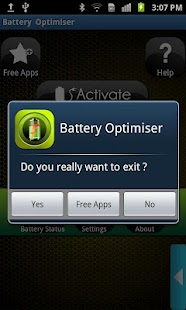 Battery Optimiser - screenshot thumbnail
