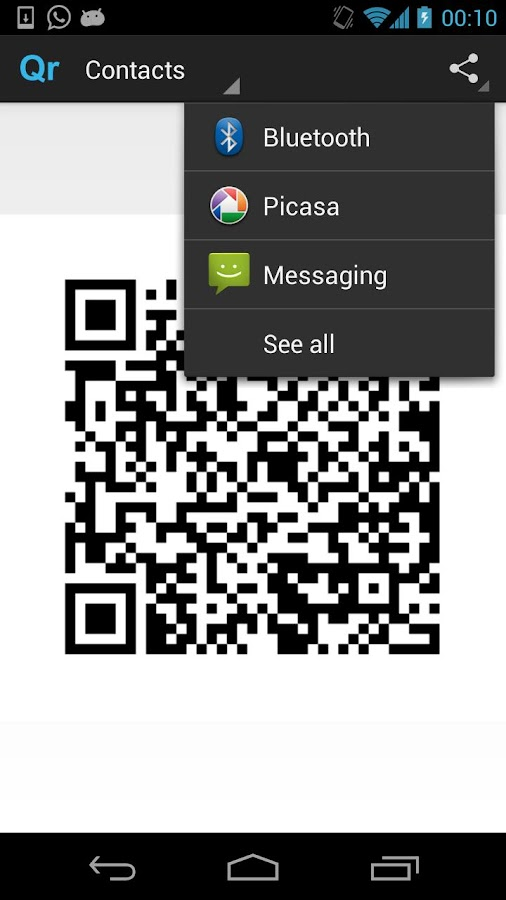 QR Code Generator - Ad Free - screenshot