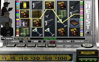 Screenshot of The Heist HD Slot Machine FREE