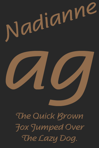 nadianne medium flipfont apk 1.0 download - free personalization apk