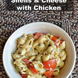 Shells & Cheese with Chicken