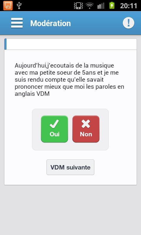 VDM Officiel - screenshot