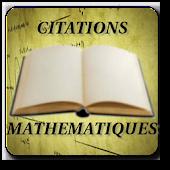 Citations Mathématiques