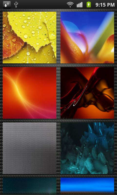 HD Wallpapers for Galaxy S3 - screenshot