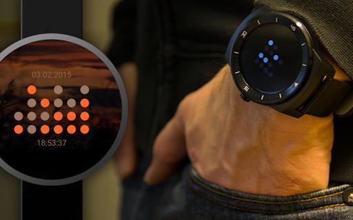 BWF - Binary Watch Face