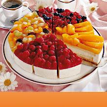 Abbildung Gemischte Obst-Sahne-Torte