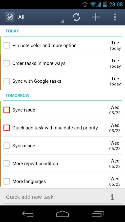 GTasks: To-Do List & Task List - screenshot