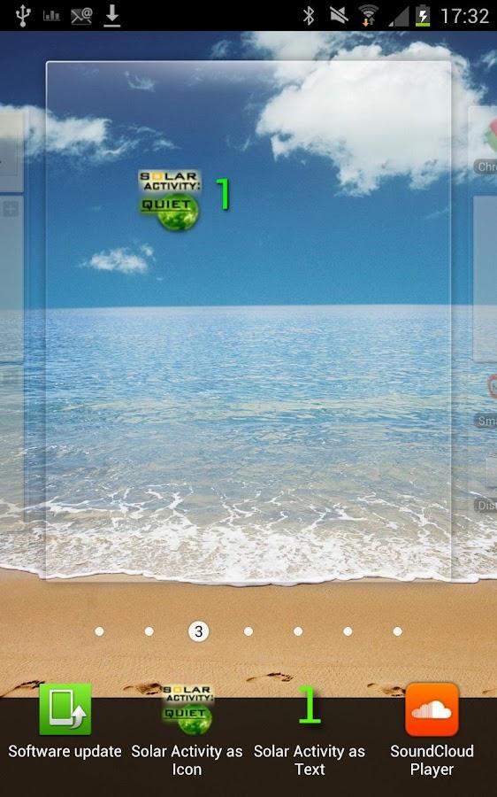 Solar Activity Monitor Widget- screenshot