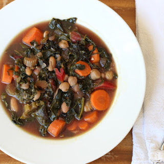 Hearty Vegetable and Bean Soup.