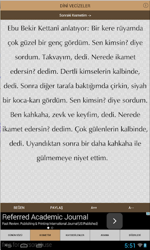 DİNİ VECİZELER