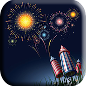Firework Touch Live Wallpaper
