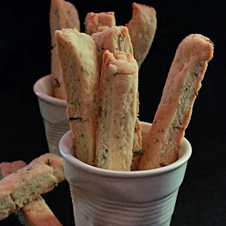 Cheese and Fennel Seed Sablè Shortbread Sticks