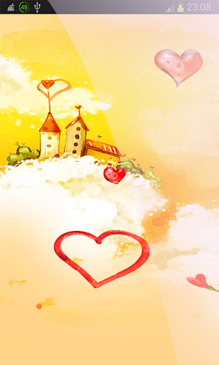 Love Hearts LWP HD