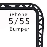 iPhone5/5S バンパー (チタン) 『truss』