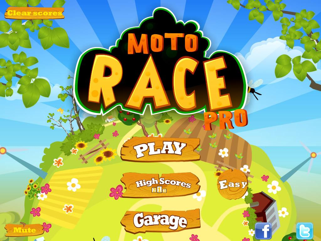 Moto Race Pro- screenshot