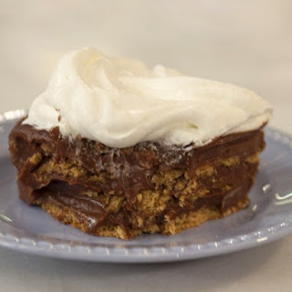 Chocolate Pudding Icebox Cake.