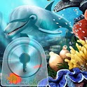 GO Locker Theme water fish icon
