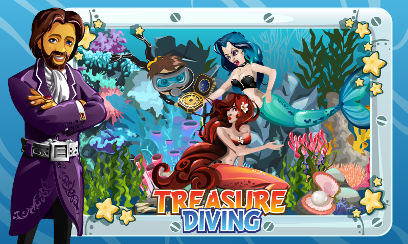 Treasure Diving - screenshot