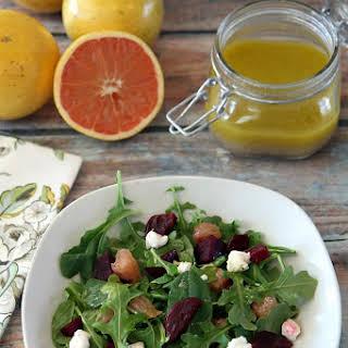 Florida Grapefruit and Beet Salad.
