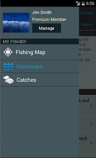 Fishidy - Fishing Maps & Guide - screenshot thumbnail