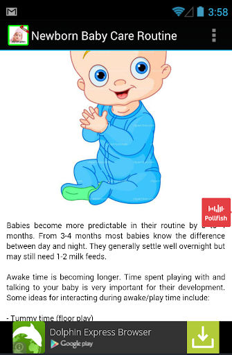 【免費娛樂App】New Routine Newborn Baby Care-APP點子