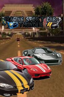 Raging Sport Car Thunder