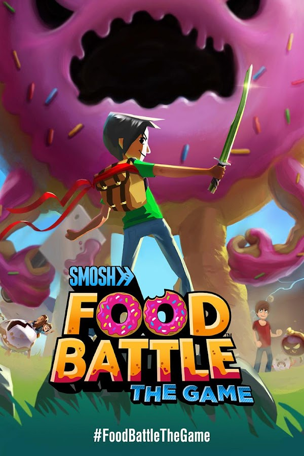 Food Battle: The Game- screenshot