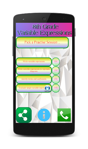 8th Grade Variable Expressions