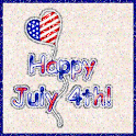 Happy 4th of July Balloon LWP logo