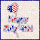 Happy 4th of July Balloon LWP