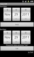 Screenshot of Date Diff