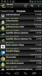 AutoKiller Memory Optimizer - screenshot thumbnail