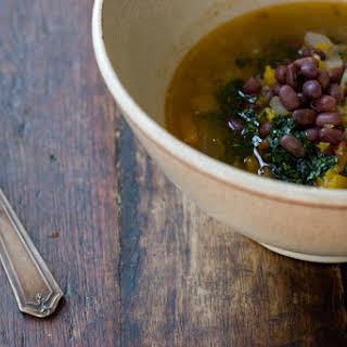 Adzuki Butternut Squash Soup.