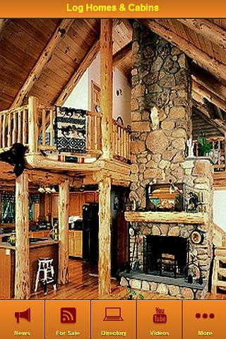 Log Homes Cabins