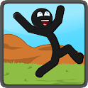 Stickman Live Wallpaper icon