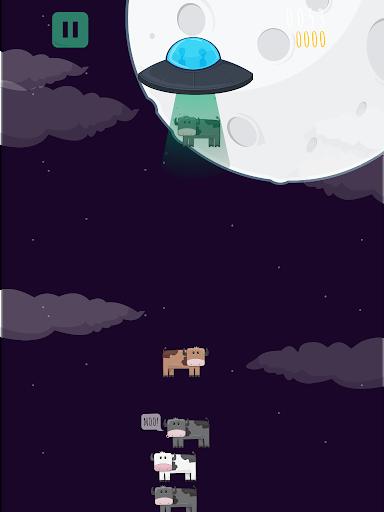 Aliens Farm: The cow game
