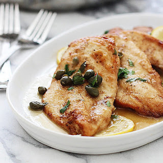 Five-Ingredient Chicken Picatta