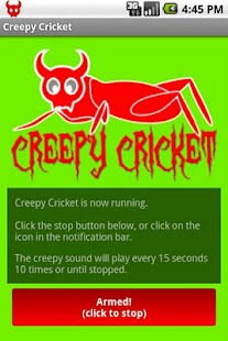 Creepy Cricket- screenshot thumbnail