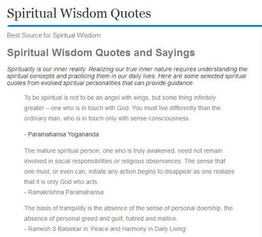 Spiritual Wisdom Quotes