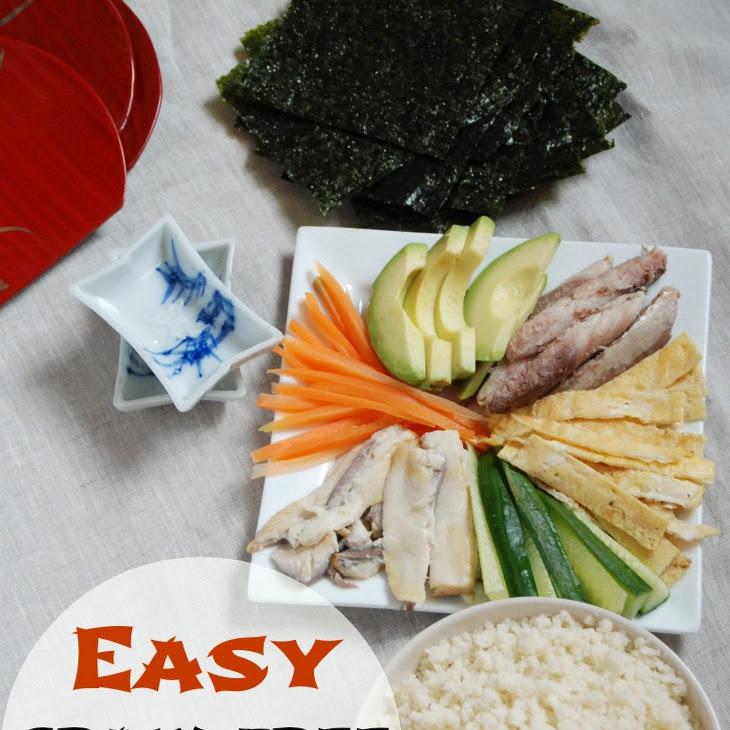 Easy Grain Free Sushi – Temaki