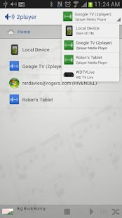 2player 2.0 UPnP/DLNA Player - screenshot thumbnail