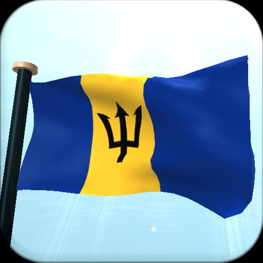 Barbados Flag 3D Free 個人化 App LOGO-APP試玩