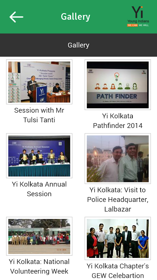 Young Indians Kolkata Chapter- screenshot