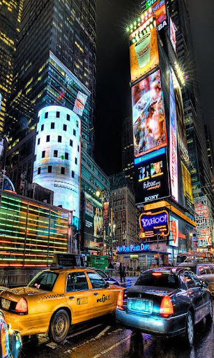 New York Effet Flou LWP Free